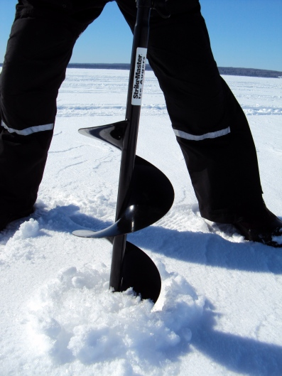 Ice auger 2010