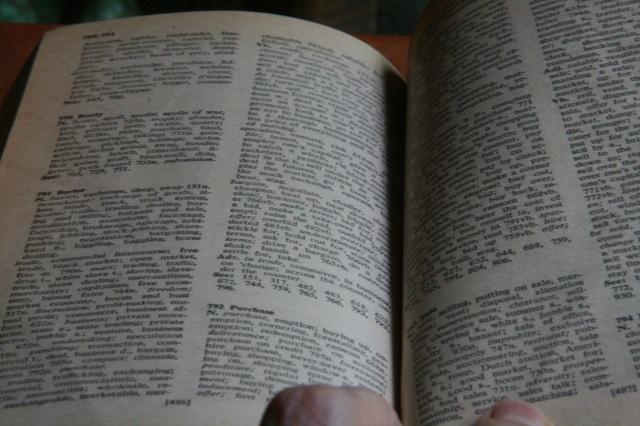 thesaurus 3
